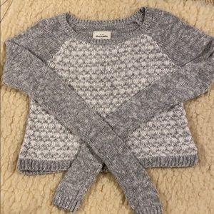 Women's Cropped Abercrombie Sweater